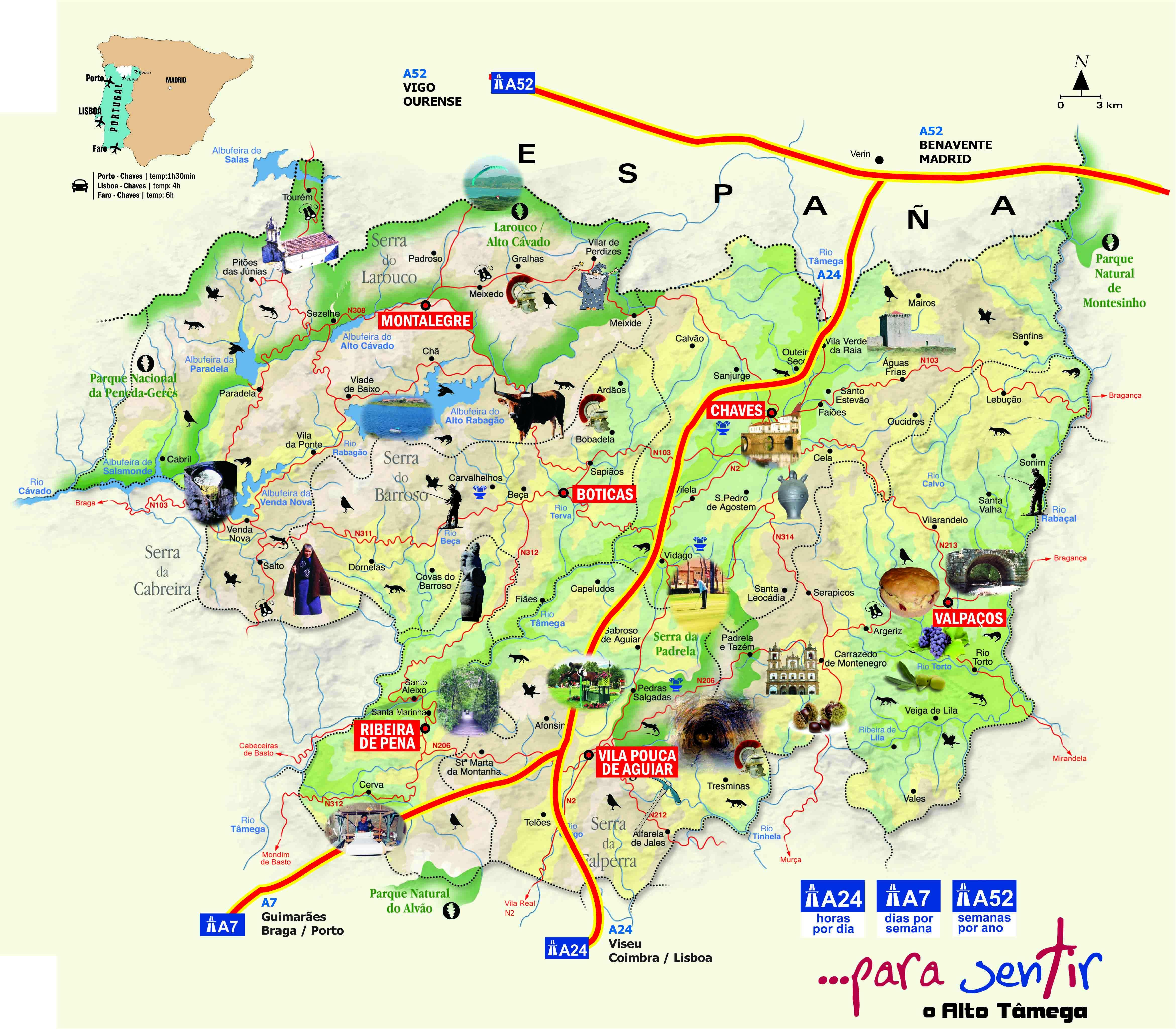 mapa turistico do geres Como Atuamos   ADRAT mapa turistico do geres